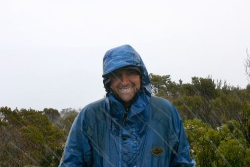 John on the summit of the Princess Range 1