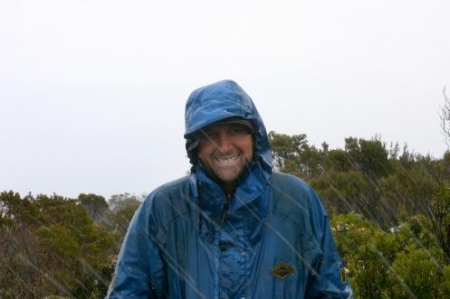 John on the summit of the Princess Range 1