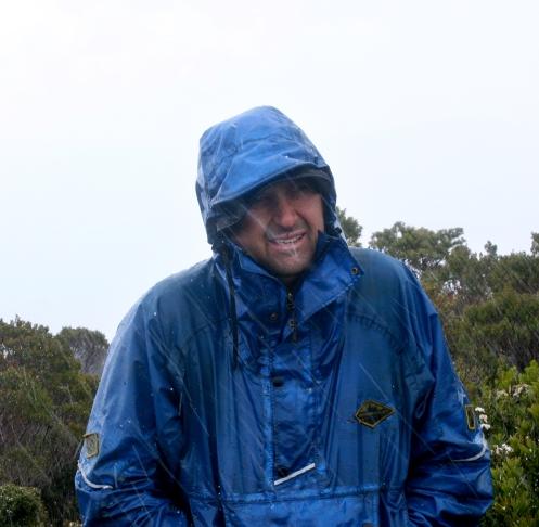 John on the summit of the Princess Range 2
