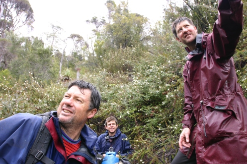 Richard, Matt and Dale in the baeura 1