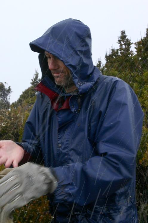 Richard on the summit of Princess Range 1